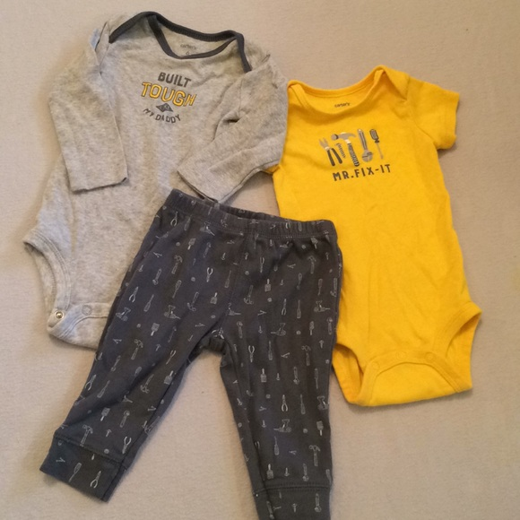 3dfc36f63 Carter's Matching Sets | Baby Boys 3 Piece Play Set | Poshmark